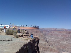 Grand Canyon Skywalk (Heather on the go!) Tags: cameraphone grandcanyon lg hualapai grandcanyonwest vx9900 lgenv grandcanyonskywalk sedonaday1