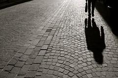 Shadow (gonzaloh) Tags: street shadow urban blackandwhite bw white black france blancoynegro blanco silhouette d50 calle nikon frankreich noir noiretblanc negro ombra sombra nikond50 ombre cobblestone explore utata urbana sw silueta serendipity rue schwarzweis weis francia bianco blanc nero schwarz montbliard biancoenero urbanphotography etcetera urbanphoto pav cotcpersonalfavorite fotografaurbana fotourbana resolutionaries utata:project=justblack photourbaine photographieurbaine