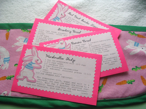 swap recipe cards