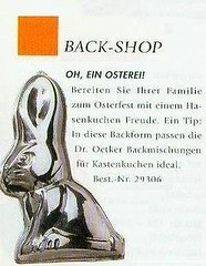 backform osterhase