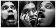 reid triptych (s o u t h e n) Tags: portrait blackandwhite bw strange portraits d50 hilarious nikon triptych ryan zombie fork nikond50 wierd reid screaming facialexpression southen ryansouthen reidsouthen 1on1peoplephotooftheday 1on1photooftheday superbmasterpiece 1on1photoofthedayapril2007 1on1peoplephotoofthedayapril2007 1on1podmention41007