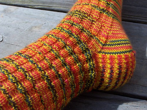 Mexicali Peppers Fancy Sock