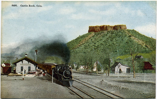 Postcard: Castle Rock, Colo.