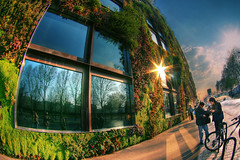Quai Branly Greenery Wall, Paris (The Other Martin Tenbones) Tags: paris france grass museum 7 fisheye greenery hdr quaibranly p1f1