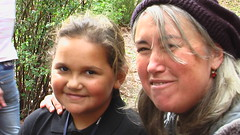 fiona and shanaya (turning world) Tags: face sweet land fiona indigenous shanaya
