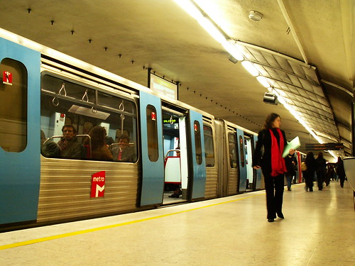 Lisboa - Metro station Saldanha