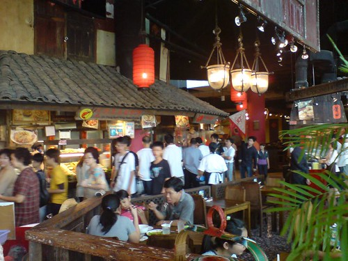Interior of Food Republic