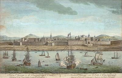 Jan Van Ryne, 1754,Fort St George, Madras, on the Coromandel Coast