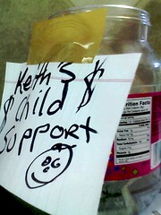 keith's child support