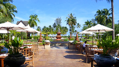 Open Courtyard at Le Meridien Khao Lak Beach & Spa Resort