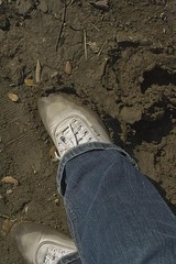 muddy_balloons_33 (sneaker lover) Tags: white fetish balloons shoes dirty canvas worn sneaker muddy keds