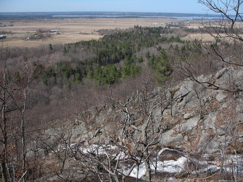 Luskville Falls view