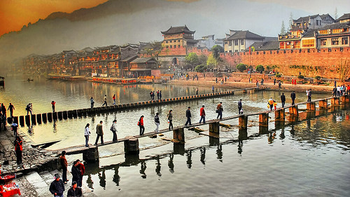 Fenghuang 鳳凰 跳岩