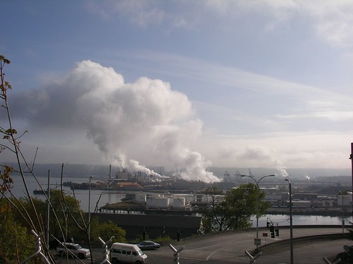Tacoma Tide Flats, Air Pollution & Port