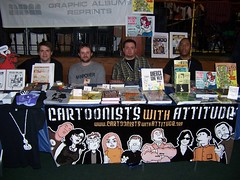 APE 2007: The Cartoonists With Attitude Table