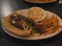 Philly-style cheesesteak