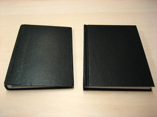 A cuaderno muerto cuaderno puesto