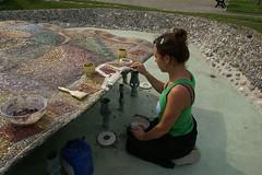 rifacimento lacune (ari kokomosaico) Tags: mosaico milanomarittima restaurofontana