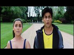 Shahrukh and Rani (Indari) Tags: park sexy green sport actors indian handsome bollywood khan talking jogging shahrukh hindi yellowshirt srk rani mukherjee khushi kingkhan gham faceexpression k3g mukerji mukherji cinem kabhie khabhi queenofbollywood