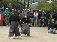 Hyoho Niten Ichi Ryu Embu - Kitakyushu, Japan (ScottUK) Tags: japan scott halls ichi matsuri miyamoto ryu niten sasaki musashi iwami kojiro kokura toshio kenjutsu hyoho hnir iwamisoke nagaokasensei