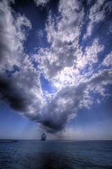 small ship, radiant sky (n+s) Tags: cruise blue sea sky cloud 20d water topv111 topv2222 clouds canon topv555 topv333 bravo ray ship topv1111 radiance wide wideangle topv777 caribbean soe starprincess naturesfinest interestingness6 efs1022 magicdonkey i500 outstandingshots superaplus aplusphoto diamondclassphotographer