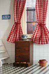 Potato box in my mom's dollshouse kitchen