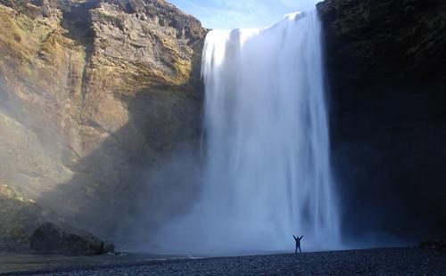 Las aguas del Mýrdalsjökull: Skógafoss. Por Islandia (5)