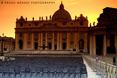 Sit down please (BRUNO MNDEZ PHOTOGRAPHY) Tags: sunset italy orange pope rome roma yellow chair italia chairs basilica vaticano papa soe hdr pietro vaticane sitdown saintpeter blueribbonwinner mndez supershot instantfave flickrsbest abigfave colorphotoaward goldenphotographer diamondclassphotographer brunomndez brunomndezphotography stpetersbasilica