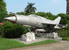 MIG-21 jet fighter
