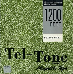Tel-Tone Magnetic Tape box