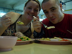 Dinner at Marine Parade Hawker Centre