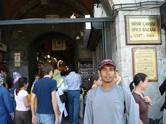 Pintu Masuk Spice Bazaar, Istanbul, Turkey