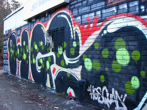 IMG32800. Graffiti in Malminkartano