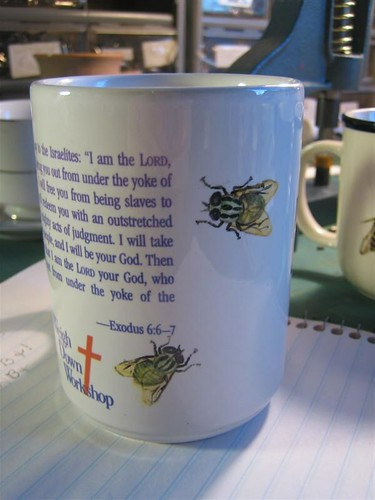 Flies on the Exodus Mug