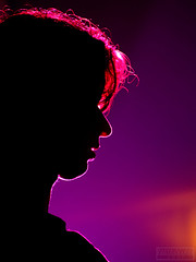 Profile (`Mazz) Tags: lighting pink portrait music dark hair nose concert purple profile amman jordan chin mazz blueribbonwinner mazz1983 azizmaraqa