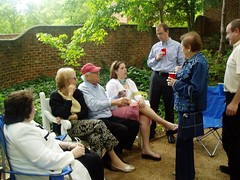 5-21-2005 More Garden party (2) (LindsayT...) Tags: 2005 lauren gardens mom dad jamie may nanny charlottesville universityofvirginia uva poppop gardenparty bubbe