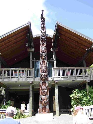Maori Totem Pole by robdickson.