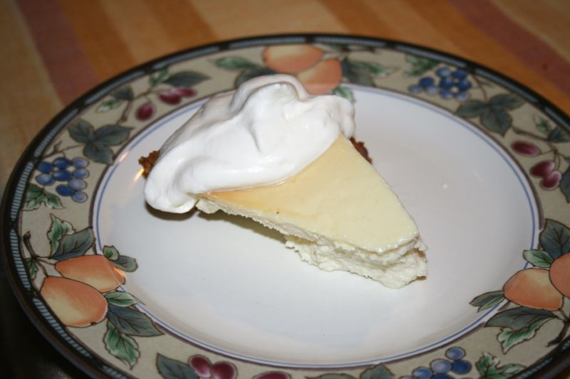 Piece of Ricotta Pie