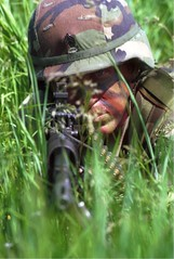 Camoflage Sniper (jmurphpix) Tags: grass southdakota training soldier army nikon flickr clinton rifle iowa sniper nationalguard 60mm camoflauge 60 sergeant calibur m60 custerpark joemurphy josephlmurphy jmurphpix operationcoyote signalbattalion
