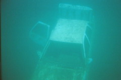 Lake Rawlings car (MasterGeorge) Tags: lake water car swim pond underwater snorkel scuba sunken submerged wreck quarry rawlings