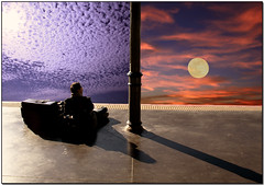 Past, Present and Future (Silvia de Luque) Tags: sky moon clouds searchthebest dream luna trainstation cielo nubes future present past sueo helluva blueribbonwinner instantfave alhambra2006 silviadeluque abigfave photofans artlibre creativeshotinvited colorphotoaward aplusphoto flickrbest irresistiblebeauty superbmasterpiece beyondexcellence flickrdiamond