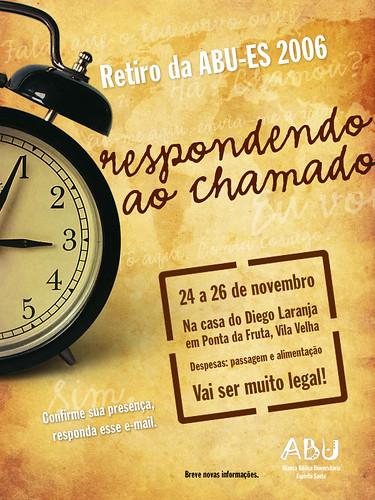 ABUB Retiro - Cartaz por Tiago da Costa | Design Gráfico.
