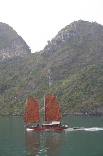 Junk in Halong Bay