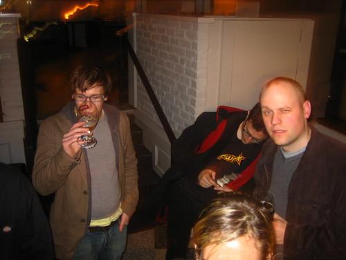 Drunken debauchery