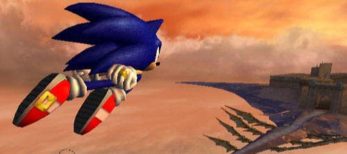 Sonic and the secret rings, screenshot