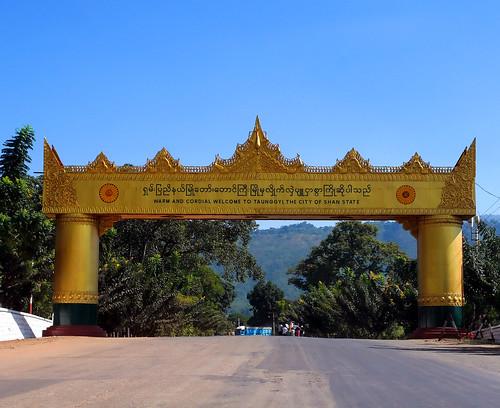 Taunggyi Myanmar  city images : Taunggyi, Myanmar.