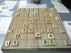 First game of shogi