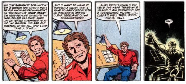 Bob Layton - Nuclear Terrorist Clone! - Ghost Rider v1 #72