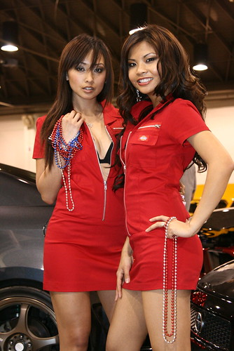 Sexy ferrari Girls And Car