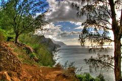 Kalalau Trail, Kauai (Kaldoon) Tags: ocean travel wallpaper vacation 20d canon hawaii coast nice view hiking trails hike kauai hi 1785mm kalalau hdr napali clifs napalicoast kalalautrail warmful hikinginkauai p1f1 hikinginhawaii kaldoon